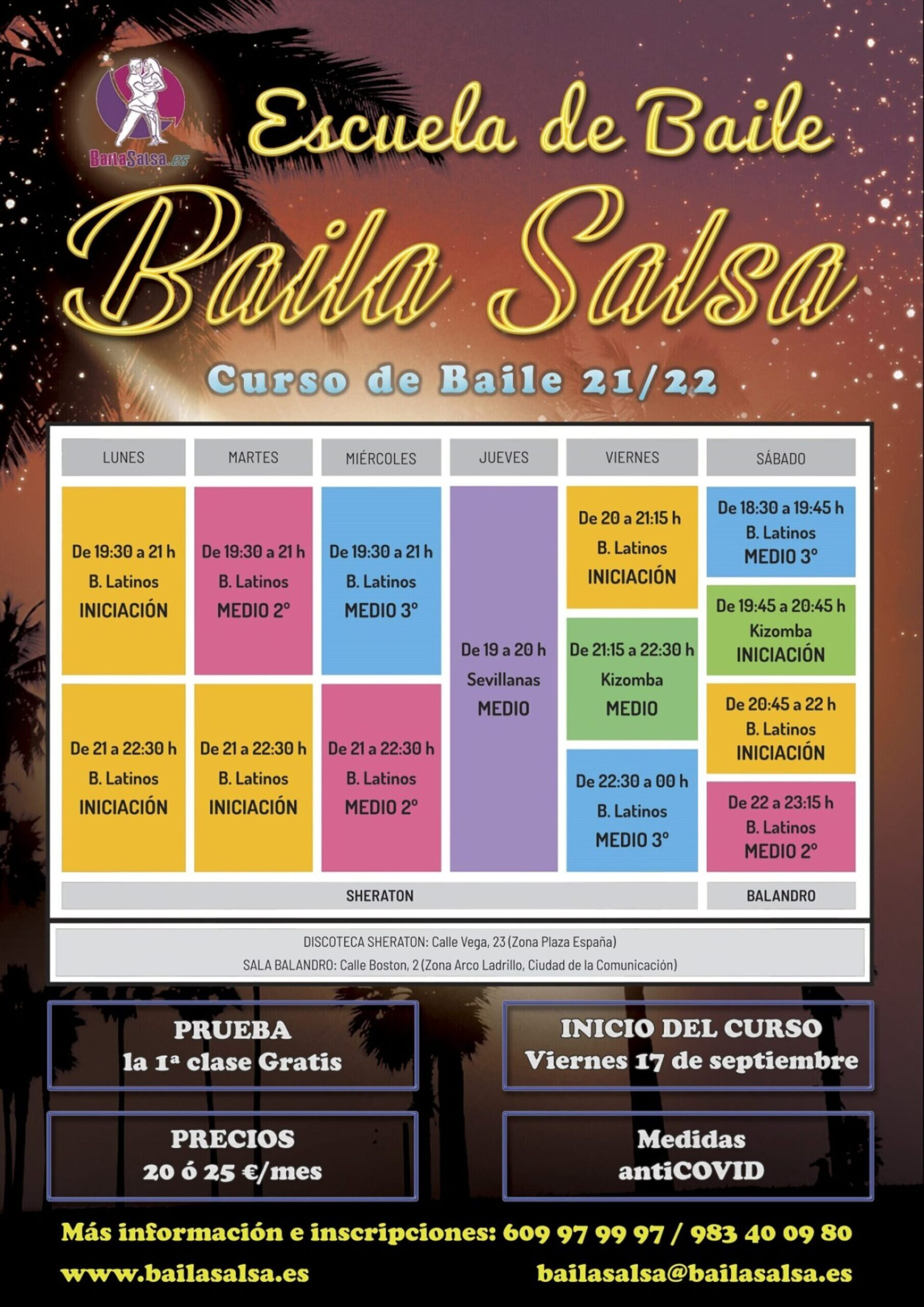 Baila Salsa Valladolid